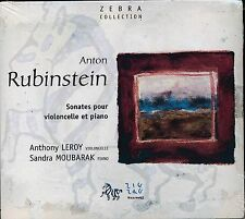 Anton Rubinstein Sonata for violin piano CD NEW Anthony Leroy Sandra  Moubarak