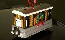 THOMAS the train CHRISTMAS ORNAMENT TOBY Wooden