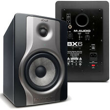 M-Audio BX6 Carbon Studio Reference Monitor (Pair) **BRAND NEW** MAudio BX-6