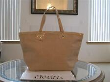 Versace Women Gold Tote Evening Weekender Travel Bag HandBag !