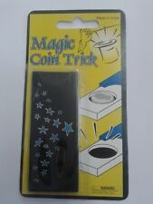 COIN SLIDE Magic Trick. Disappearing Coin in Case/Box Easy Beginners Trick