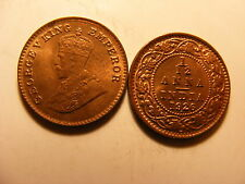 India-british 1/12 Anna, 1 Pie, 1926, Red & Brown Uncirculated