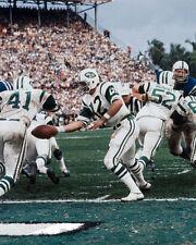 1969 New York Jets MATT SNELL & JOE NAMATH Super Bowl III 8x10 Photo Print