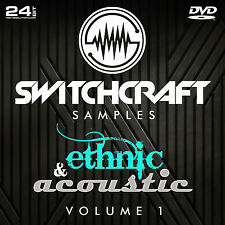 ETHNIC & ACOUSTIC VOL 1 - 24BIT WAV STUDIO / MUSIC PRODUCTION SAMPLES - DVD