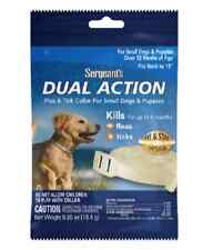 SERGEANTS SMALL FLEA & TICK DOG PUPPY DUAL ACTION COLLAR 6 MONTH FREE SHIP USA