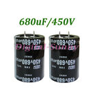 1X680uF 450V Electrolytic radial Capacitor DIP NEW 1pcs free shipping