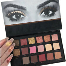 Fashion Rose Gold Textured Eyeshadow 18 Colors Matte Eyeshadow Palette Cosmetics