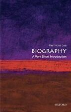Very Short Introductions: Biography by Hermione Lee (2009, Paperback)