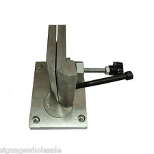 Dual-axis Metal Channel Letter Angle Bender Bending Tools- Bending Width 100mm