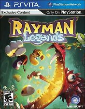 PLAYSTATION VITA GAME PSV RAYMAN LEGENDS BRAND NEW & FACTORY SEALED