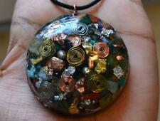 Ultimate Crystal Mix - Orgone Pendant - Amazonite, Lepidolite, Quartz and MORE