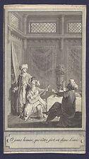 Gravure XVIIIe - Les Milles et un Jour - Marillier & De Ghendt