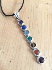 Magnifiques!!! chakra cristal collier pendentif Gemstone nouvel âge guérison bijoux