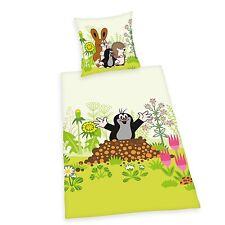 Herding Baby Bettwäsche Der kleine Maulwurf Renforce  40 x 60 cm  100x135 cm