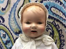 ANTIQUE LARGE COMPOSITION BABY 25 INCHES, E. I. H. CO. INC. HORSMAN