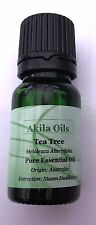 Tea Tree (100% Pure) Essential Oil 10ml Melaleuca Alternifolia Fresh New & Seale