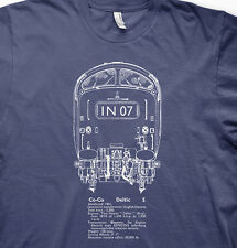Deltic class 55 diesel model railways trains BR t shirt