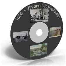 1600 + Vintage UK Postcards - Photo Card Art & Craft CD