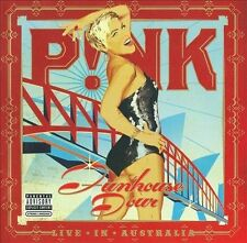 P!nk Live In Australia: Funhouse Tour Dirty Version CD + DVD '09 (never played)