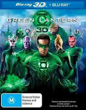 GREEN LANTERN 2D + 3D Blu-Ray DISC