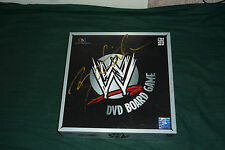 WOW RARE SBG WWE DVD Triva Board Game Unused SIGNED BY BATISTA AUTO