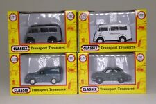 Classix Job Lot; 4x Assorted 1:76 Scale Morris Cars & Vans; Excellent Boxed