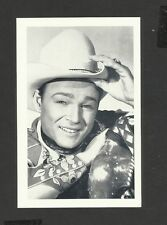 Nostalgia Postcard Actor Roy Rogers Starred in more than sixty Western Films