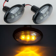 2x Amber LED smd Side Marker Lights Turn Signals For MINI COOPER S R56 06-2014