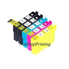 5PK 2 BK+3 Color Ink For Epson 124 T1241 - T1244 WorkFoce 320 323 325 435 NX420