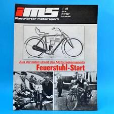 DDR Zeitschrift IMS 1/1988 Illustrierter Motorsport Tatra Subaru Zittau Motorrad