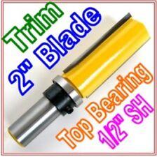 """1 pc 1/2""""SH 2"""" Blade Top Bearing Flush Trim Router Bit  sct 888"""