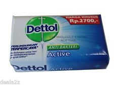 24 X 70g Blue Pack DETTOL ACTIVE Anti Bacterial Bar Soap USA SELLER FAST S&H