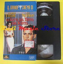 film VHS cartonata LA GATTA SUL TETTO CHE SCOTTA elizabeth taylor (F37) no dvd