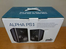 PSB Alpha PS1 Powered Desktop Stereo Speaker System (Gloss Black Pair)