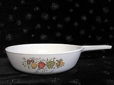 "VINTAGE CORNING WARE SPICE OF LIFE 6 1/2"" SKILLET SAUCE PAN P-83"