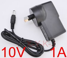 AC 100V-240V Adapter DC 10V 1A Switching power supply 1000mA AU plug DC 5.5mm