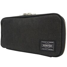 NEW YOSHIDA  PORTER SMOKY WALLET 592-09989 BLACK With tracking From Japan