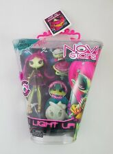 Novi Stars Alie Lectric I Light Up! Glow in the Dark Stand Doll w/ Hi-Def