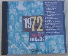 CD PLUS BELLES CHANSONS FRANCAISES 1972 LENORMAN REJANE LAMA DELPECH PATUREL