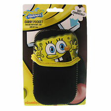 Nintendo DS Case Spongebob Squarepants Black Carry Gaming Yellow DSi 3DS