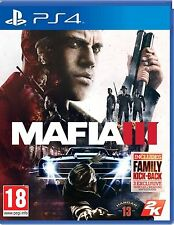 MAFIA III 3 PS4 PLAYSTATION 4 GAME USED IN GOOD CONDITION