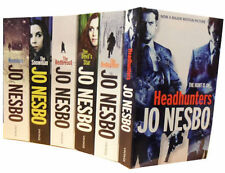Harry Hole Mystery Series Collection Jo Nesbo 6 Books Set Headhunters, Nemesis