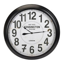 Extra Large 93cm Kensington Station Vintage Style Metal Home Office Wall Clock