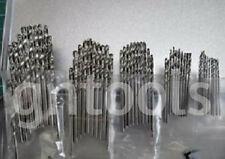 Job Lot 50pc Metric HSS High Speed Steel Drill Bits 1mm, 1.5mm, 2mm, 2.5mm & 3mm