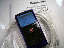 Panasonic HM-TA1 Full HD High Definition Mobile Camera Video Camcorder Violet