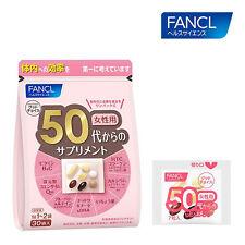 FANCL Japan supplement for over 50s female women 30packs 15-30 days