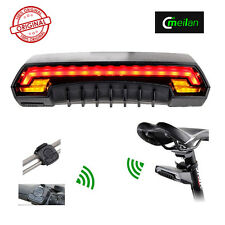 Meilan X5 Bicycle Rear Tail Light with Turn Signals Auto Control Wireless Remote