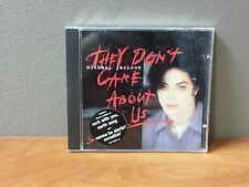 Michael Jackson:They Don't Care About Us  CD   LIKE NEW  DB1806