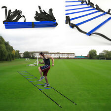 Durable 8-rung Agility Ladder for Soccer, Speed, Football Fitness Feet Training