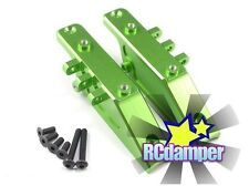 ALUMINUM FRONT & REAR DIFF GEAR BOX MOUNT GREEN AXIAL 1/10 WRAITH RR10 BOMBER